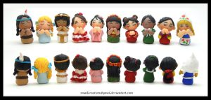 10 Girls [Finished] - [Commission] by SmallCreationsByMel