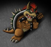 Bowser by Lal0-90