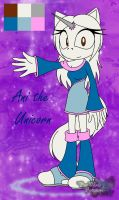 Ani the Unicorn - basic ref by WhiteWitchsDaughter