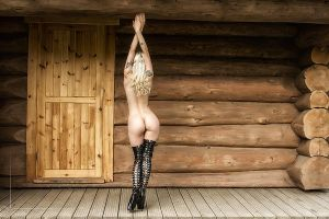 Log Cabin by Kestrel01