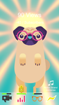 PewDiePug - Heavenly Glasses by DavidZobrist