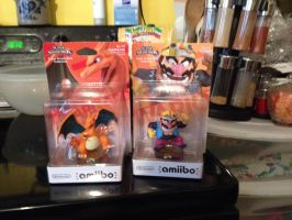 Charizard and Wario by UKD-DAWG