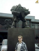 Me At Games Workshop HQ by Proiteus