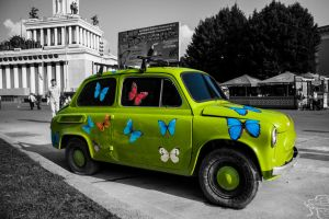 Green Car by Nick356