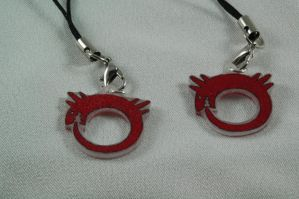 Ouroboros charms by grygon