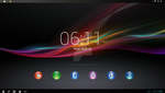Xperia z tablet mockup by Faisalharoon