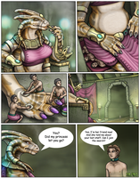 The Lost Golden Staff of The Dragon Queen 18-80 by DragonessLife