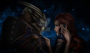 There Is No Shepard Without Vakarian by Leo-Fina