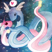 Dragonair by yei-4sus-yoh