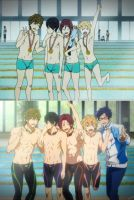 Free! Iwatobi Swim Club by cosplay33