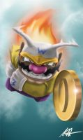 Jet Wario by Littl-Big-Kahuna