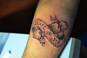 skate tattoo 02 by 14111989