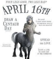 Draw a Centaur Day by Viergacht