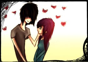 Emo Love by TinaM5