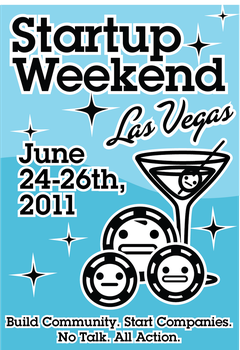 Startup Weekend LV Poster by helloxcthulhu