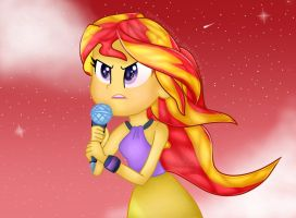 Sunset Shimmer by hanansaabira