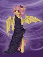 Flutterbat in Black by MantaTheMisukitty