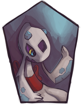 Pokemon Icon commission #2: Froslass by toshema