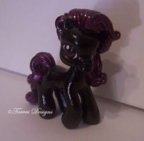 My Little Pony as MIDNIGHT Original Character OOAK by TorresDesigns