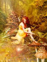 The Fall Faerie by ElissandrAnne