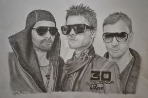 30 Seconds To Mars by cute06