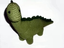 Diplodocus Plushie by W0IfDreamer
