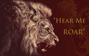 Lannister - Hear me Roar - 1920x1200 by GrimHrakkar