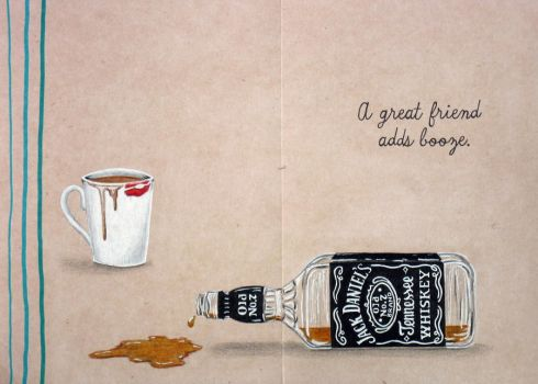 Coffee + Whiskey by CREATIVESOUL1927