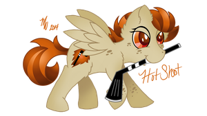MLP Request: Hot Shot (Not my OC!) by Mychelle
