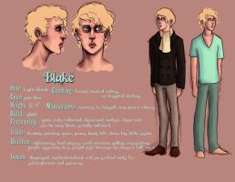 Blake Ref Sheet by CannedTalent