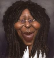 Whoopi Goldberg by MarcoBucci