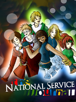 Cover: Service National by troisnyxetienne