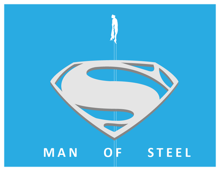 Man of steel Poster by Junito619
