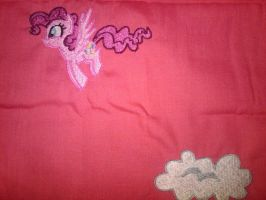 Pinkie Pie as a Pegasus by EthePony