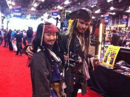 NYCC 2012- Me and an Impersonator by SweeneyT-DemonBarber