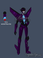 Animated Nightblade (OC) by Mediziner