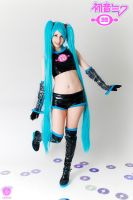 Hatsune Miku Cosplay version Space channel 39 by Maysis