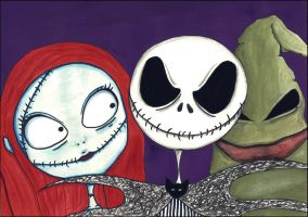 Nightmare Before Christmas (Contest) by xLifeIsArt