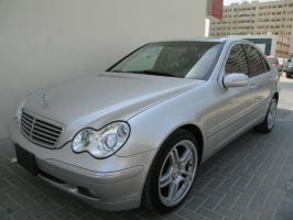 Mercedes C320 2004 silver by sniperbytes