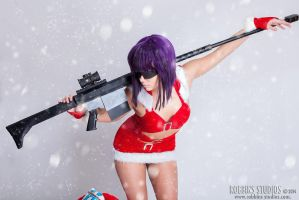 Christmas Kusanagi by GinaBCosplay