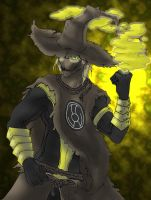 Yellow Lantern Scarecrow by Cannibal-Cartoonist