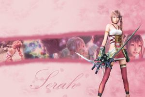 Serah Wallpaper by ShinraWallpapers