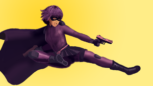 Hit-Girl! by MrIDrawThings