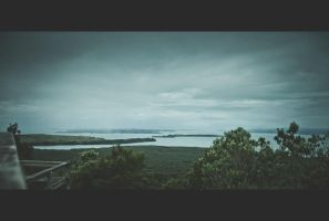 A view from Rangitoto by kefirux