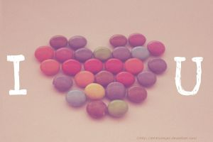 Smarties love by AhhitsMegan