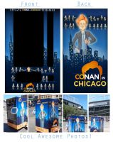 Conan in Chicago by LuigiL