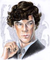 Copic Sherlock by Tamasaburo09