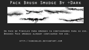 Splatters Smudge Brush by Sunchales