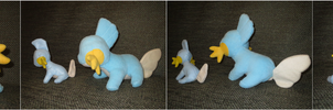 Mudkip Plush by IridescentMirage
