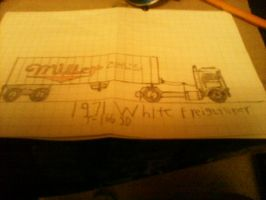 Maximum overdrive miller freightliner by thesketchydude13